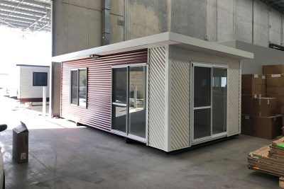 The construction of a transportable home