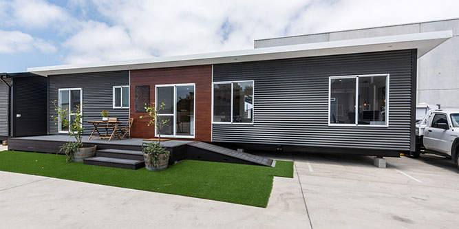 Modular homes are robust and affordable.